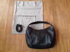 wNEU: LIEBESKIND *Aurora* Handtasche/Shopper/Beuteltasche Schwarz Echtleder