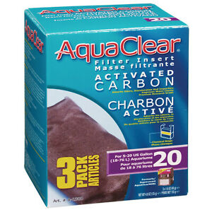 Aqua Clear 20 (Mini) Carbon 3Pk