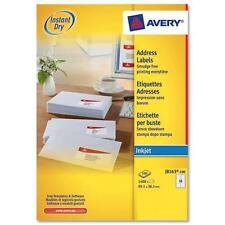 AVERY J8163-100 INKJET PRINTER LABELS 14 PER A4 SHEET