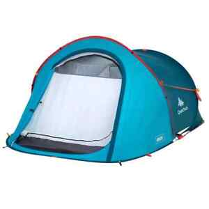 Instant Popup Tent Camping Hiking Quechua Waterproof Automatic 2 People Outdoor