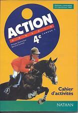 Action; Anglais ; Lv1 ; 4eme ; Cahier D'activites - Philippe Dominique ; Bern...