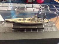 """DIE CAST LEGGENDARIE NAVI DA GUERRA """" HMS NELSON """" ATLAS 1/1250 COD. 131"""