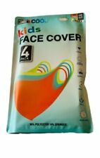 32 Degrees Cool Kids Durable Washable Face Cover - Pack of 4