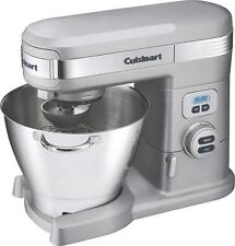 New Cuisinart Sm-55Bc Brushed Chrome 5.5Qt Electric 12 Speed Stand Mixer 3876778