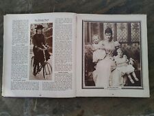 KING GEORGE V EMPEROR`S JUBILEE BOOK 1910-1935 suffragette coronation pictures