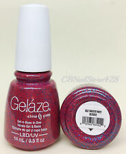 Gelaze by China Glaze -Nail Gel Polish- Gel-n-Base In One - Series 2 -Pick Color