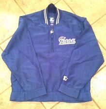 Vintage Starter New England Patriots 1/2 Zipper Pull Over (MED) Jacket Coat