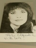 autographe dédicace de Nicole Calfan  10 x 15