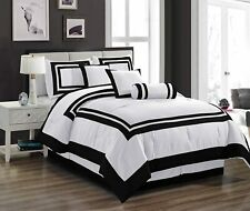Chezmoi Collection 4 Piece Cali-King Comforter Set