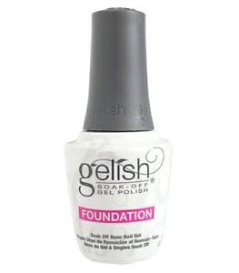 Harmony GELISH Soak-OFF Nail Gel Polish Foundation Base Coat 0.5fl.oz