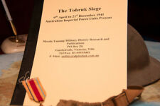 The Tobruk Siege. by Neil C Smith. Signed Copy (can be personalised)