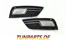 Fog Light Blinds for Audi A4 B8 Facelift Honeycomb Grille New