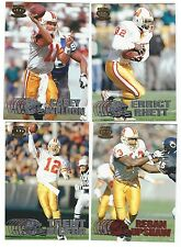 1997 Pacific Silver & Red Tampa Bay Buccaneers 4 card lot