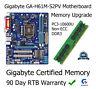 1 GO DDR3 Mise À Niveau De Mémoire Gigabyte GA-H61M-S2PV Carte mère Non-ECC
