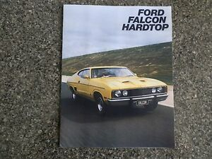 FORD FALCON XC COUPE BROCHURE