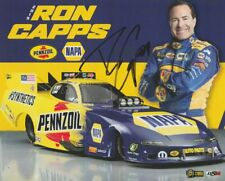 2019 Ron Capps signed Napa Pennzoil Dodge Charger FC Norwalk NHRA postcard