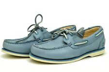 Timberland women's classic boat shoes BLUE A1AR7