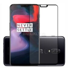 For OnePlus 6 Tempered Glass Screen Protector Full Face Curved Coverage