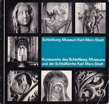 Schloßberg-Museum Karl-Marx-Stadt, Kunstwerke des Museums und der Schloßkirche