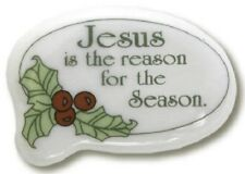 Christmas Lapel Pin Jesus Is the Reason for the Season Mm292