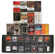 BAD RELIGION - 14 BRAND NEW/SEALED cassette tapes in custom box set