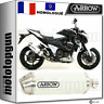ARROW POT ECHAPPEMENT APPROUVE RACE-TECH BLANC KAWASAKI Z 800 E 2013 13