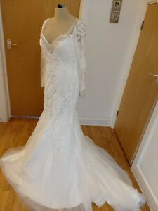 Eternity bride wedding dress Size 12