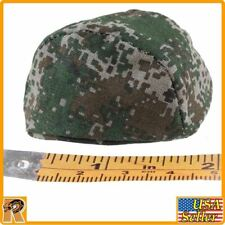 UN Chinese Peacekeepers - Camo Helmet Cover - 1/6 Scale - Flagset Action Figures