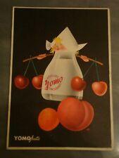 CARTOLINA PUBBLICITARIA YOGURT YOMO ANNI '60