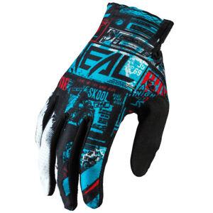 O'Neal Matrix Ride Blue Men motocross dirt bike off-road MTB BMX riding Gloves