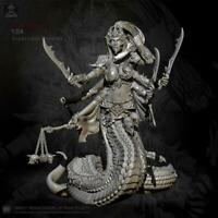 1/24 Resin Figure Kits Snake Beauty Solder model self-assembled