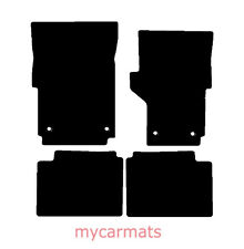 2012-2018 FITS VW AMAROK Tailored Carpet Car Floor BLACK MATS BLACK EDGING