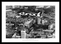 Avro Vulcan Bomber Coventry City Flyover Aviation Photo Memorabilia (118)