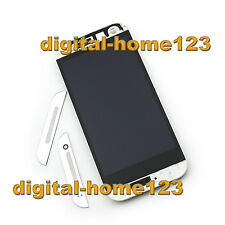 LCD Display Touch Screen Digitizer +Frame For HTC ONE M8 mini 2 ONE Remix White