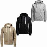 Jack & Jones Originals Full Zip Hoodie Mens Casual Hooded Jacket Jorstorm