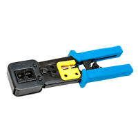Electrical Cable Wire Stripper Cutter Crimper Crimping Plier Snip Flush Hole