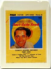 PERRY COMO Como's Golden Records  8 TRACK TAPE  CARTRIDGE