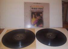 Mamas And The Papas LP Cass John Michelle Dennie Vinyl VG Cover DOUBLE ALBUM
