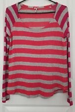 Anthropologie Splendid Women's Striped Sweater Size Medium Long Sleeve Top