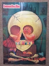 """1986 Garbage Pail Kids Poster~ """"BEAUTY IS ONLY SKIN DEEP"""" #13 Vintage~Topps ~New"""