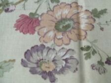 Purple & Pink Flowers Print Material Floral Printed Fabric MT102