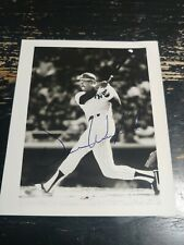 Dave Winfield Autograph New York Yankees Hard Signed Photo. Blue ink