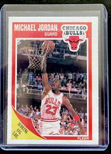 1989-90 Fleer Michael Jordan #21 NBA Chicago Bulls  HOF - Free Shipping