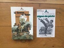 Daniel VALIANT La caverne du temps Signe de Piste 56 Joubert + calalogue