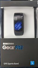 NEW Samsung Gear Fit2 Smartwatch Large Black Fit 2 fitness activity tracker