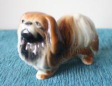 More details for vintage porcelain pekingese dog 11 cm circa 1950 made in england.