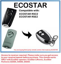 Hörmann ECOSTAR RSC2, Hörmann ECOSTAR RSE2 Compatible Remote Control 433.92MHz.