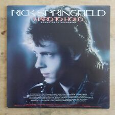Rick Springfield Hard To Hold 1984 Vinyl LP RCA Victor Records ABL1-4935