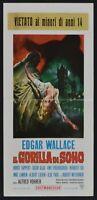 L130 Plakat die Gorilla von Soho H.Tappert, Vohrer Edgar Wallace
