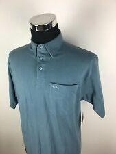 B07 New With Tags Atticus Blue Polo Tops 'Sant Polo', Size XL 100% Cotton